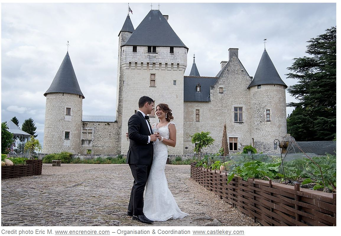 Castle Key Destination Weddings - Encre Noire