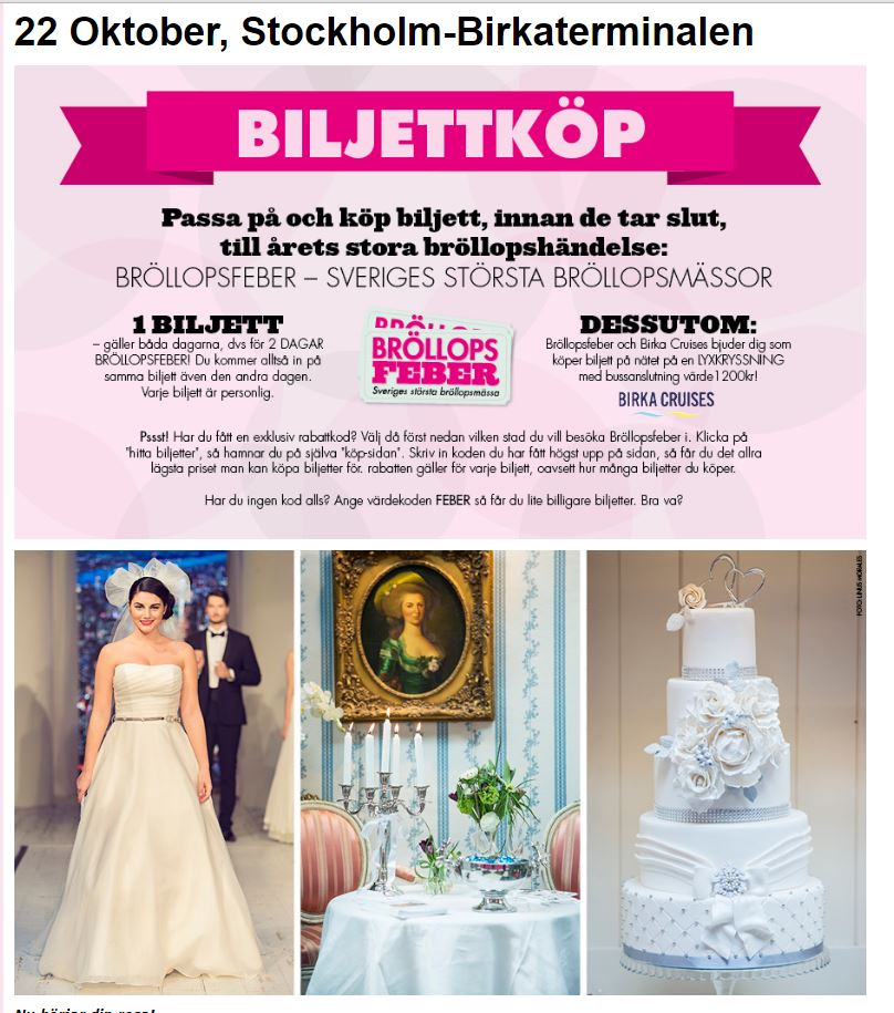 Castle Key Destination Weddings Bröllopsfeber Stockholm